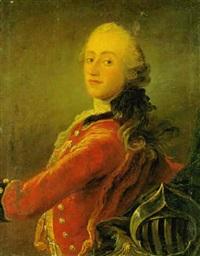 portræt (hertugen af augustenborg?) by peder als