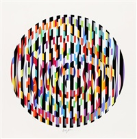 vii (from the message of peace portfolio) by yaacov agam