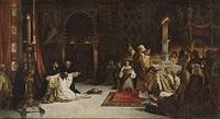 las postrimerías de fernando iii, el santo (after virgilio mattoni) by antonio rodríguez morey