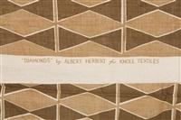 diamonds textiles by albert herbert