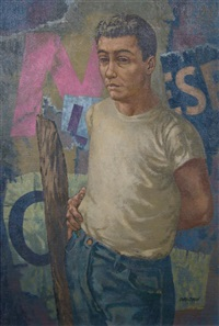 self portrait by herbert laurence davidson