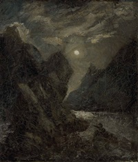 the lorelei by albert pinkham ryder