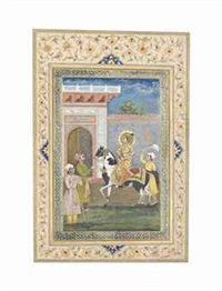 a portrait of dara shikoh on horseback by anonymous-indian (19)