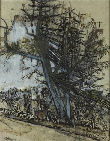 tree study by joan kathleen harding eardley