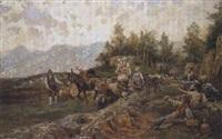 ritorno dal pascolo by raffaelo armenise