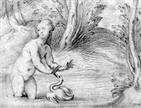leda and the swan by altobello meloni