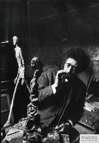 alberto giacometti paris 1960 by rené burri