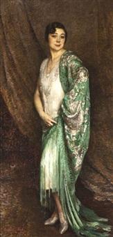 portrait de madame m. beatch by constantin font