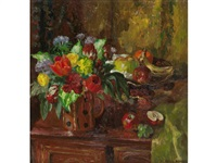 spring still life by mary nicol neill armour