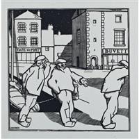 quatre images bretonnes by jean-emile laboureur