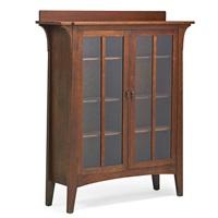 double-door bookcase by charles limbert