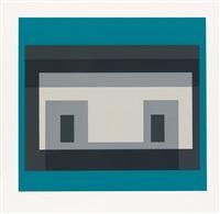 variant iv * variant vii (2 works) by josef albers