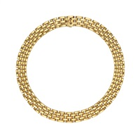 gold maillon necklace by cartier