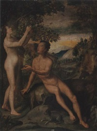 the temptation of adam by giovanni (il cosci) balducci