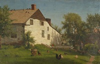 feeding the chickens by jervis mcentee