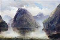 lion rock, milford sounds by james peele
