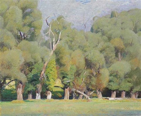 willows by daniel garber