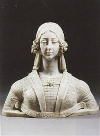 a bust of johanna albrizzi by francesco da laurana