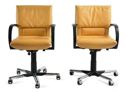 Four Vitra Office Chairs By Mario Bellini