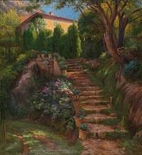 un jardín en valldemosa, mallorca by aurelio tolosa alsina