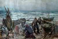 after fishing by arnolds spalvins