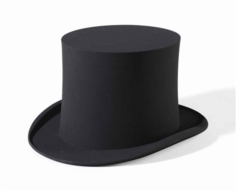 zylinder top hat by katharina fritsch