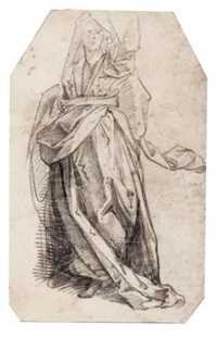allegorical female figure by giovanni alberti