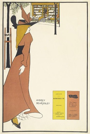 the pseudonymautonym libraries by aubrey vincent beardsley