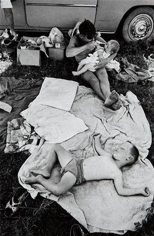picnic at hartebeespoort dam on new years day by david goldblatt