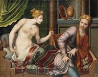 joseph und die frau des potiphar by french school-fontainebleau (16)