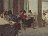the weavers by walter gay