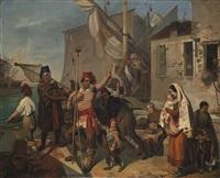 la prima partenza del giovane pescatore by giovan francesco locatelli