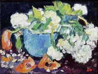 coupe de fleurs by louis valtat