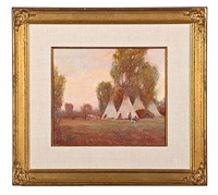 indian encampment by steve seltzer