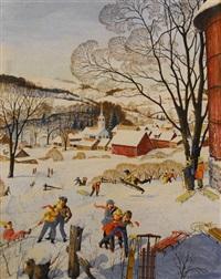 winter fun by j. graham kaye