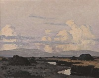 west of ireland bogland by paul henry