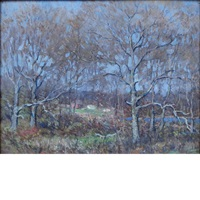 late fall landscape by clark greenwood voorhees