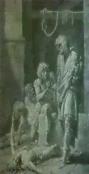 ugolin et ses enfants en prison by armand charles caraffe