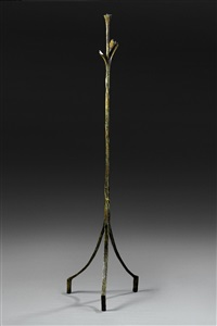 lampe a la feuille by alberto giacometti