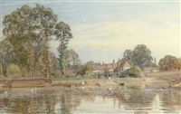 sonning-on-thames, berkshire by walter field