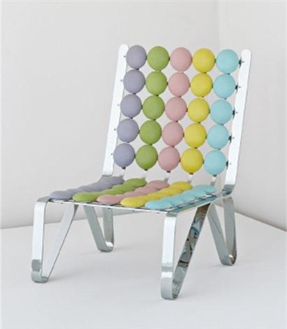 smarties geometries chair by mattia bonetti