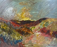 untitled landscape by jane evans