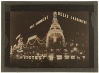 illuminations du centenaire de la belle jardinière. paris by léon gimpel