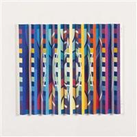 composition (rythme vertical) by yaacov agam