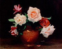 wiltshire roses by denis quintin fildes