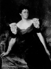 portrait of emily f. lawrence by julian russel story