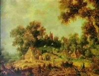 paysage animé by dirk-raphaelsz camphuysen