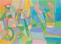 composition abstraite by amine el bacha