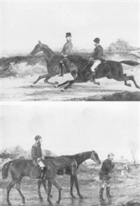riding out by henry alken (-unattributable)