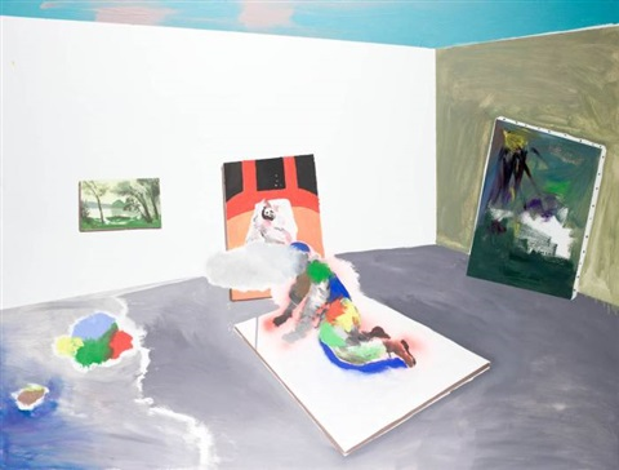 malarz w pracowni by piotr wachowski